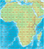 Library of Congress Multi-Sheet Map Series Collection: Africa