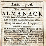 The New-York Historical Society American Almanac Collection